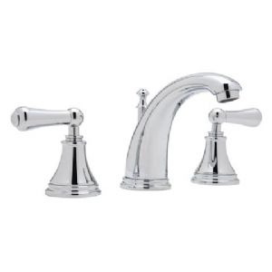 3712 Perrin & Rowe 3-hole Deck Mounted High Spout Basin Mixer Tap With Lever Handles